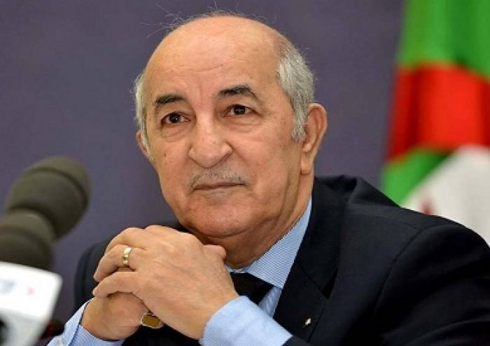 الرئيس الجزائري: صرف منحة 10 آلاف دينار لكل أسرة بمناسبة شهر رمضان