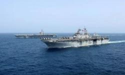 البحرية الأمريكية: زوارق تابعة للحرس الثوري الإيراني اقتربت بشكل خطر نحو مدمراتنا في الخليج العربي