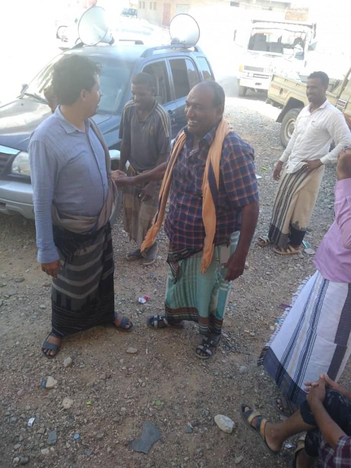تحت ضغط مجتمعي..مليشيا الإخوان تطلق سراح سعيد باحشوان (صور)
