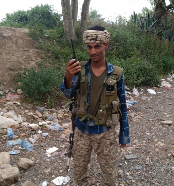 استشهاد البطل سليمان الكلي في مطاردة الحوثيين بقعطبة