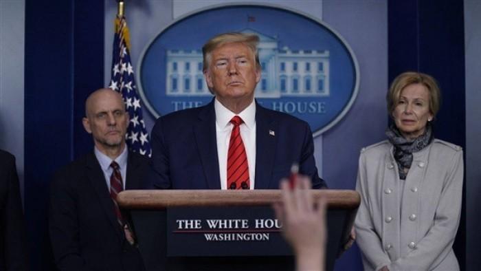 انطلاق المؤتمر الصحفي اليومي لخلية الأزمة الأمريكية حول مستجدات فيروس كورونا