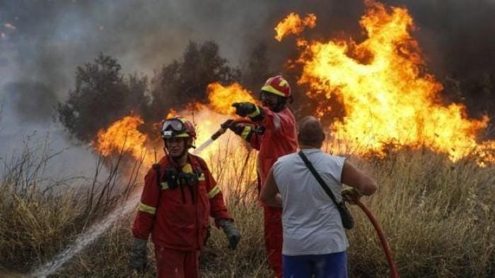 حريق هائل بأكبر متنرهات بولندا في الاحتفال العالمي بيوم الأرض