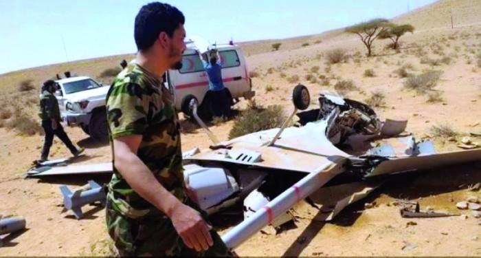 الجيش الليبي يسقط 4 طائرات تركية مسيرة خلال يوم واحد