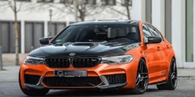 إجراء تعديلات تقنية وشكلية على السيارة بي إم دبليو M5