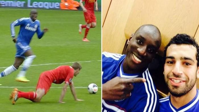 صحيفة إنجليزية تستعيد ذكريات احتفال صلاح بضياع لقب الدوري من ليفربول