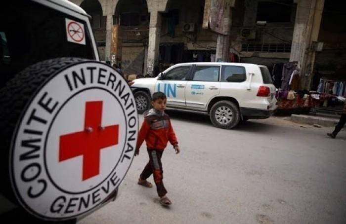 الصليب الأحمر يدعو إلى توفير المياه النظيفة في ظل كورونا