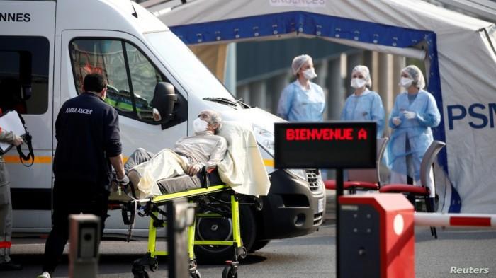 فرنسا: وفيات كورونا في البلاد تتخطى الـ24 ألف