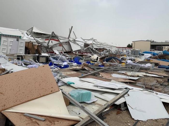 """هاشتاج """"انهيار المستشفى الميداني"""" بقطر يتصدر تويتر"""