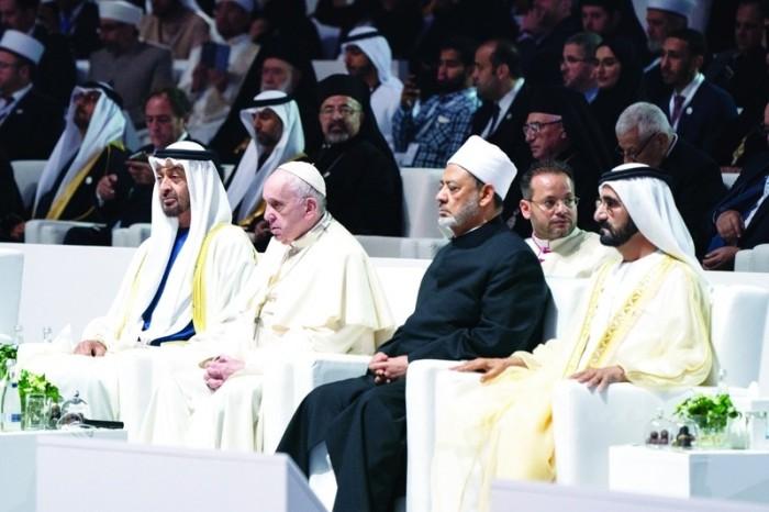 """""""اللجنةُ العليا للأخوة الإنسانية"""" تدعو مختلف الأديان للصلاة بـ14 مايو لرفع الوباء"""