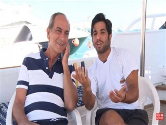 بالفيديو.. أول ظهور لهشام سليم مع نجله نور بعد عبوره الجنسي