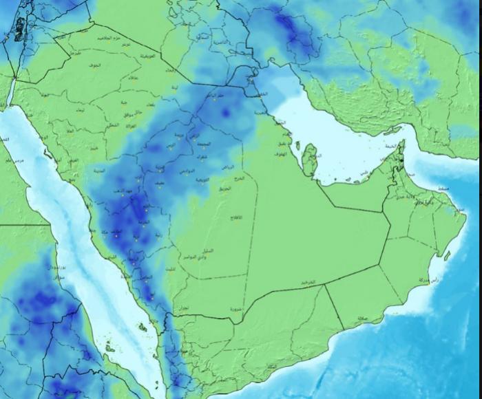 توقعات بعدم سقوط أمطار على حضرموت وشبوة والمهرة حتى الأربعاء