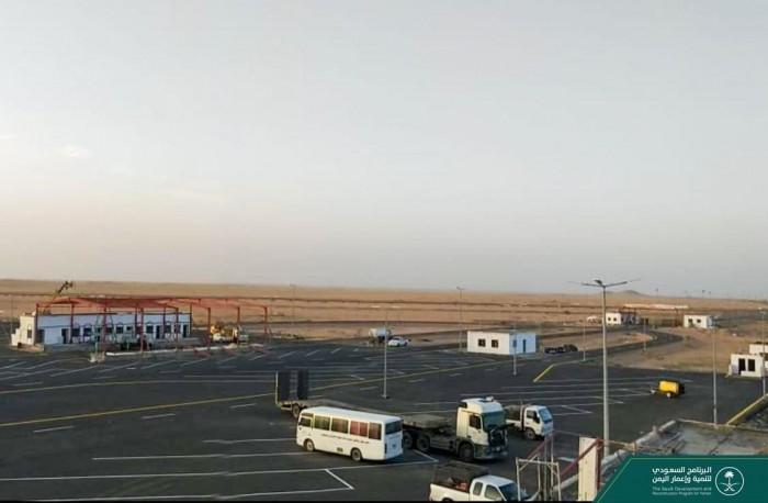 البرنامج السعودي يواصل تأهيل منفذ البقع بصعدة