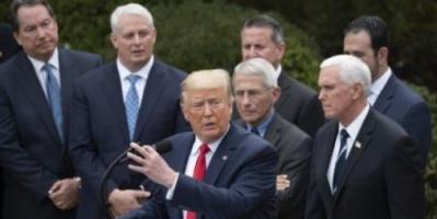 مشروع قانون يفوض ترامب لفرض عقوبات على الصين بسبب كورونا
