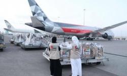 الإمارات تغيث مونتينيجرو بطائرة مساعدات طبية