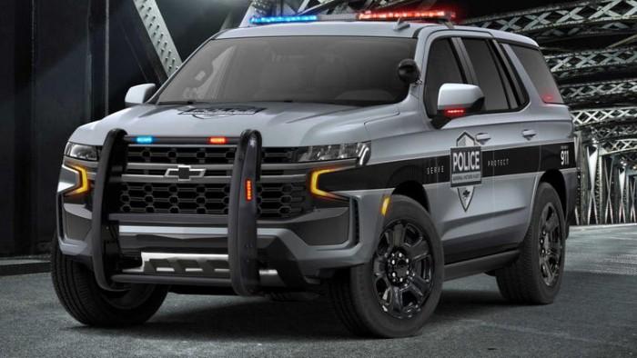 شيفروليه تضم Tahoe إلى أسطول الشرطة الأمريكية