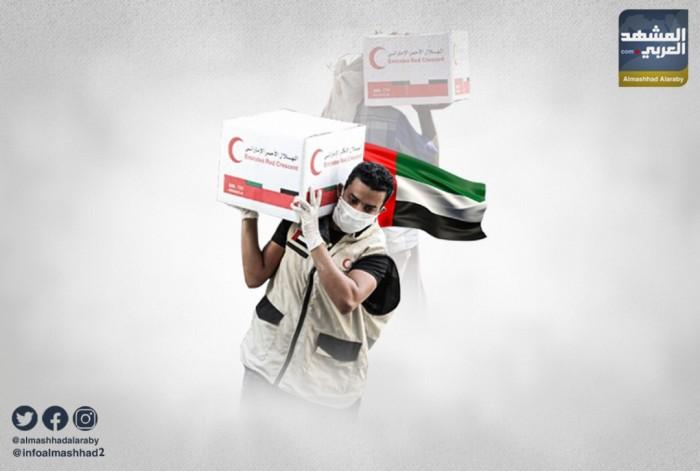 غيث الإمارات يواجه كورونا ويملأ موائد الفقراء بالمحافظات المحررة (ملف)