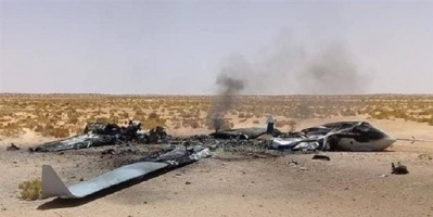 الجيش الوطني الليبي يسقط مسيرة تركية على حدود تونس