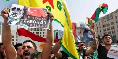 تظاهرات في تركيا ضد جرائم أردوغان في حق الأكراد