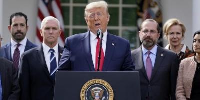 ترامب يوجّه رسالة للصحة العالمية بشأن كورونا