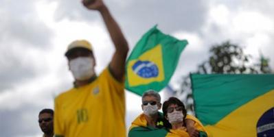 البرازيل تسجل 1179 وفاة و17408 إصابة بكورونا اليوم