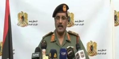 الجيش الليبي يعلن وقف إطلاق النار استعدادًا لعيد الفطر
