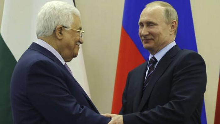 الرئيس الفلسطيني يطلب من نظيره الروسي عقد مؤتمر دولي لحل القضية الفلسطينية
