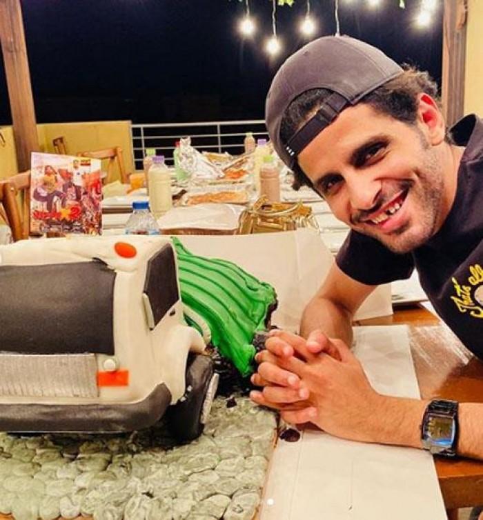 حمدي الميرغني يحتفل بعيد ميلاده بهذه الطريقة