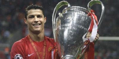 رونالدو يحتفل بذكرى التتويج بدوري أبطال أوروبا مع يونايتد