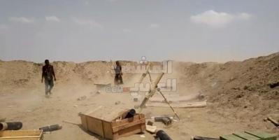 المدفعية الجنوبية تدمر أطقما لمليشيا الإخوان بوادي سلا