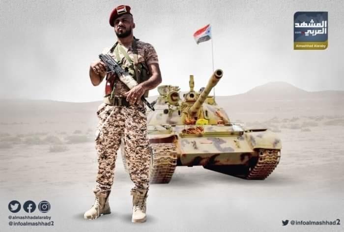 """""""الصاعقة"""" تدمر رتلا إخوانيا بالمدفعية في الشيخ سالم"""