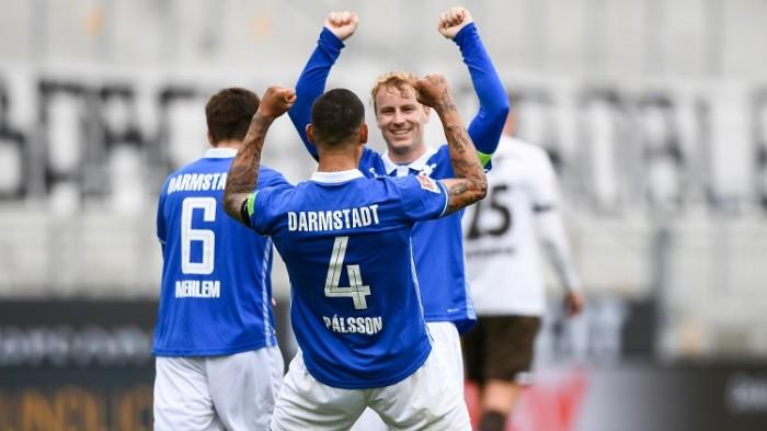 دارمشتاد يكتسح سانت باولي برباعية نظيفة في دوري الدرجة الثانية الألماني
