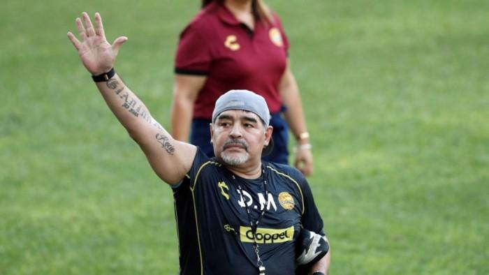 مارادونا يؤيد فرض ضريبة «ثروة» في الأرجنتين