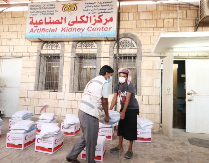 """""""هلال الإمارات"""" يوزع 978 سلة غذاء في ميفعة"""