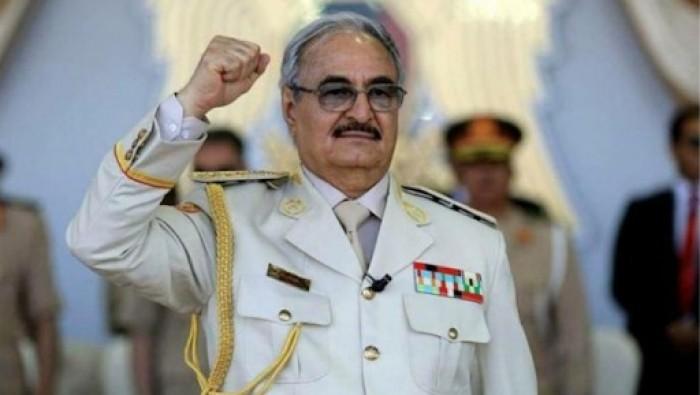 حفتر: سنقاوم الاستعمار التركي في ليبيا حتى نرده ذليلًا