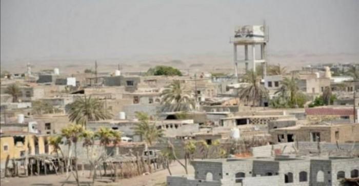 """""""المشتركة"""" تدمر تمركزا حوثيا قصف الدريهمي"""