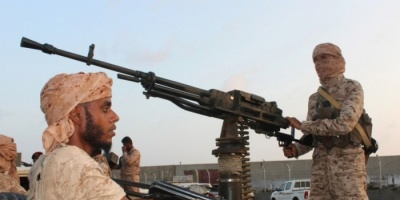 """بـ """"إخماد نيران القذائف"""".. القوات المشتركة تتصدى لإرهاب الحوثيين"""