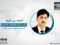 بن فريد: الجنوب جزء من التحالف الرافض لنفوذ إيران وتركيا