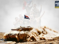 تراشق مدفعي في أبين وضربات مكثفة لتمركزات الإخوان