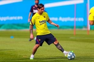 بعد الحصول على راحة قصيرة.. نجوم برشلونة يعودون للتدريبات