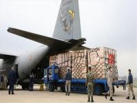 طائرة شحن عسكري تركية تهبط بمطار مصراتة الليبي