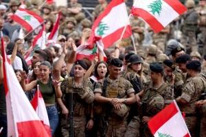 الجيش اللبناني يؤكد حرية التظاهر والتعبير السلمي عن الرأي