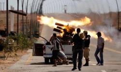 اشتباكات ضارية بين الجيش الوطني الليبي ومليشيا الوفاة جنوبي طرابلس