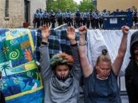 """الشرطة الأمريكية تعتقل أكثر من 200 متظاهر خلال احتجاجات """"فلويد"""""""