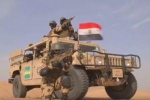 الجيش المصري يقضي على 3 تكفيريين شديدي الخطورة شمالي سيناء