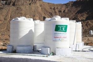 ضخ أكثر من 700 ألف لتر مياه بمخيم الخانق