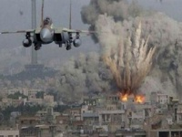 مقتل 5 عناصر من مليشيا إيران في قصف جوي بسوريا