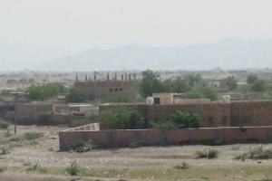المدفعية الحوثية تروع المدنيين شمال حيس