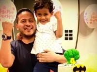 "كريم عفيفي يحتفل بعيد ميلاد نجله ""آسر"""