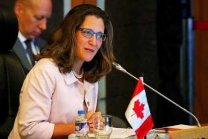 وزيرة خارجية كندا تدعو إلى رفع المعاناة عن اليمن