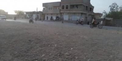 سقوط قذائف هاون حوثية على حيس
